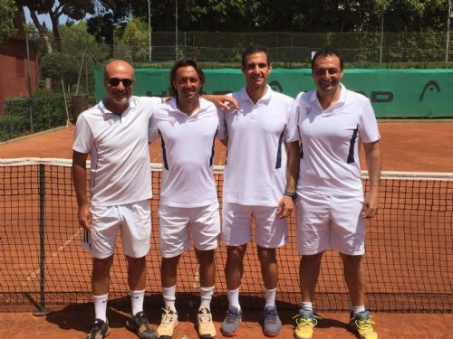 L'over 45 maschile qualificata al concentramento finale