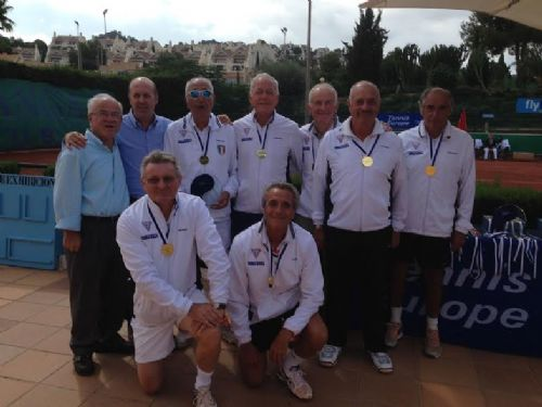 Ct Palermo, campione europeo over 70