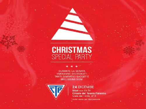 Mercoledì 24 dicembre Christmas Special Party